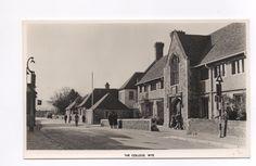 Real Photo Postcard - Wye College, High Street, Wye, Ashford, Kent | eBay