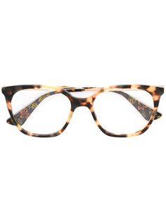 13ceda4d2e1eb Prada Eyewear Tortoiseshell Glasses - Farfetch