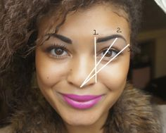 These 3 angles will help you get the best brow shape.