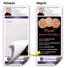 Personalize your notepads.