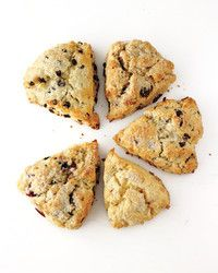 These scones are light yet hearty. Fresh apple keeps them moist, buttermilk contributes tenderness, and oats add a pleasantly toothsome texture.