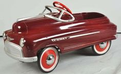 *PEDAL CAR  I had a car just like this ,