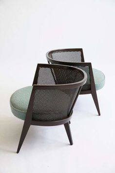 mustbeaprettygoodlife: Probber for Probber Inc. Lounge chairs , c1952. www.1stdibs.com/