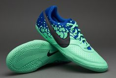 Nike-Soccer-Shoes-Nike-Elastico-II-Fives-Indoor-Soccer-Cleats-Green-GlowBlack 42.00