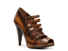Bally Guniga Leather Strap Pump
