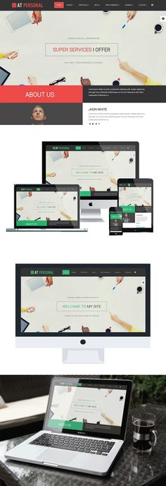 AT Personal Joomla Template. Joomla Themes. $19.00 Bootstrap Template, Joomla Templates, Amazing Websites, Joomla Themes, Browser Support, Google Fonts, Responsive Layout, Template Site, Business Website