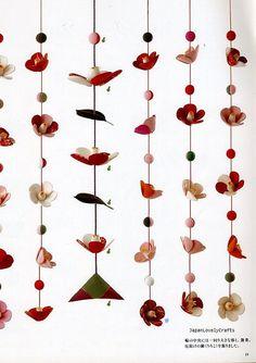 Chirimen Handmade Crafts - Japanese Traditional Craft Book - Crepe Fabric Retro Zakka - Oshie, Hanging Ornament, Temari - Katsumi Yumioka 11 by JapanLovelyCrafts, via Flickr