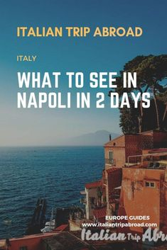 What to do in Naples Italy in 2 days - Italian Trip Abroad A complete itinerary for your 48 hours in Napoli. The best the Italian city has to give. Europe Travel Guide, Travel Abroad, Italy Travel, Travel Tips, Travel Guides, Travel Destinations, Thailand Travel, Budget Travel, Naples Airport