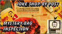 Joke Shop By Post Mystery Bag Opening | Matchrite Agent | Nostalgia Nerd