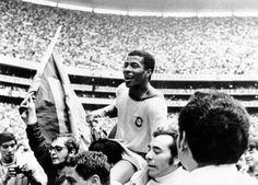 Brasil 1970 World Champion #Pelé #Tostao #Rivelino #CarlosAlberto #Everaldo #Clodoaldo #Gerson #WorldCup #Champion