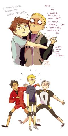 Haikyuu teams