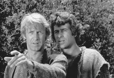 Colonel Alan Virdon (Ron Harper) & Major Peter J. Burke (James Naughton) - Planet of the Apes: The TV Series Ron Harper, Crazy Fans, Planet Of The Apes, Best Actor, No One Loves Me, Tv Series, Fangirl, Tv Shows, Actors