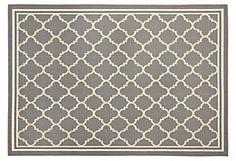 Clean line oriental rug