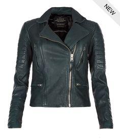 AllSaints Forest Leather Biker Jacket   Womens Leather Biker Jackets
