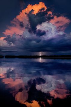 Gorgeous reflection! Breathtaking colors~ Galen Burow