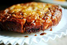 Carmel apple sticky buns - Pioneer woman