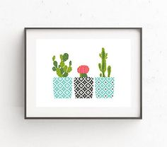 Cross Stitch Pattern Modern Cross Stitch Cactus Floral Natural http://etsy.me/2qwxOqv?utm_content=bufferdf0a9&utm_medium=social&utm_source=pinterest.com&utm_campaign=buffer via @Etsy #nikkipatternetsy