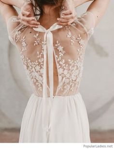 Nice wedding lace dress back The #Wedding dresses transform us in Princesses or Queens for a day. Some inspirational fashion outfit ideas for the bride to be! Brunch Wedding, Wedding Day, Wedding Bells, Wedding Gifts, Nature Inspired Wedding, Stunning Dresses, Best Wedding Dresses, Bridal Collection, Bridal Style