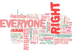 Everyone has rights