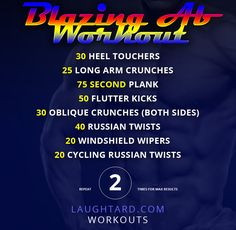 Blazing Abs Workout