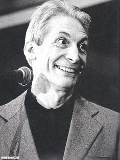""""""" Charlie Watts promoting the Voodoo Lounge Tour, photo by Tony Mott. Mick Jagger Rolling Stones, The Rolling Stones, You Never Can Tell, Emotional Rescue, Stone World, Charlie Watts, Music Images, Rhythm And Blues, British Men"""