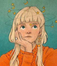 Fairy Queen, Pretty Art, Cute Drawings, Indie, Princess Zelda, Fan Art, Celestial, Wallpaper, Illustration