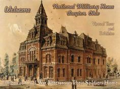 Welcome - National Military Home, Dayton Ohio, Virtual Tour and Exhibits of America's Civil War Veterans at Their Soldiers Home Veterans Home, Military Veterans, Military Records, Veterans Affairs, Virtual Museum, America Civil War, Dayton Ohio, Home Pictures, Virtual Tour