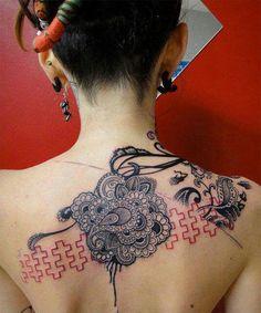 New Stylish Lace Tattoo Ideas for Girls