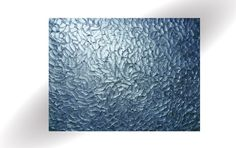 Metallic Blue Abstract Impasto Texture Pallet #art #painting @EtsyMktgTool http://etsy.me/2ijl9aI
