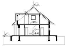 Sectiunea longitudinala Floor Plans, Model, Houses, Scale Model, Pattern, Models, Modeling, Mockup