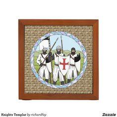 Knights Templar Desk Organizer