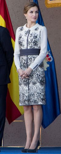 10 Nov 2015 - Queen Letizia presents Spanish Flag to National Police. Click to read more
