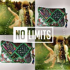 NO BOUNDARIES - NO LIMITS ❗️#baiga #bags #limits #hippie #style #Juana  ♻️✳️ JUANA CLUTCH ✳️♻️