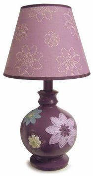 Amazon.com: NoJo Plum Dandy Lamp and Shade, Plum/Prpl: Baby