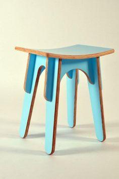 Mike Hindmarsh | flat-pack stool