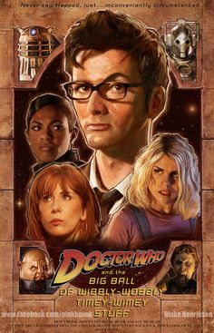 Celebrate 10 Years Of The New Doctor Who With This Fantastic Fan Art! - Mindhut - SparkNotes