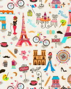 You, Me, Oui! - Paris Perfect - Quilt Fabrics from www.eQuilter.com