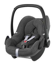 The Maxi-Cosi Pebble car seat is suitable for babies from birth to 13kg (29lbs) and is compatible with a range of pushchairs to form a travel system. It features side impact protection to keep your little one safe and can be used with a range of Maxi-Cosi bases to make it simple to install in your car.