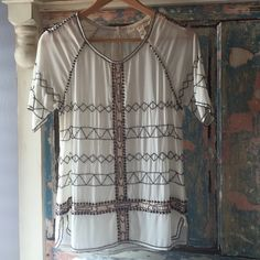 Reserved trade +Jessica Simpson blouse Exclusive top Anthropologie perfect condition Anthropologie Tops
