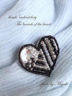 Heart broach