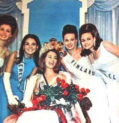 Siempre Recordada Nuestra primera Virreina universal, luego de un Empate con Miss USA, hubo que desempatar y la Dejaron de Primera finalista, pero gozando de los Mismos Beneficios de la  Miss Universe 1967 titular..