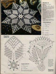 ergahandmade: Crochet Top + Diagrams na Stylowi. Irish Crochet Patterns, Crochet Doily Diagram, Freeform Crochet, Thread Crochet, Crochet Motif, Crochet Designs, Crochet Dollies, Crochet Stars, Crochet Snowflakes
