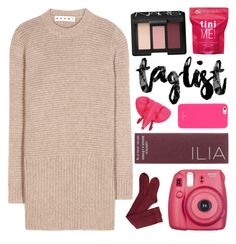 """1O4 ; taglist!"" by faith-and-metanoia ❤ liked on Polyvore featuring Marni, Me! Bath, Fujifilm, Ilia, NARS Cosmetics, ZENTS and Kate Spade"