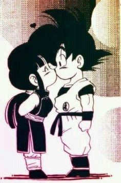 Goku & Milk