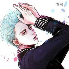 Fan art of Ravi from VIXX | Credit goes to its original owner