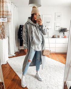 Cute Casual Outfits, Simple Outfits, Pretty Outfits, Stylish Outfits, Winter Fashion Outfits, Fall Winter Outfits, Autumn Fashion, Outfits Damen, Winter Mode