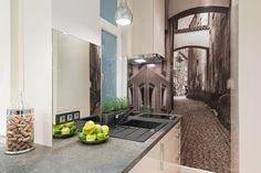 Kitchen, wall art, mural - Putto Interior Design