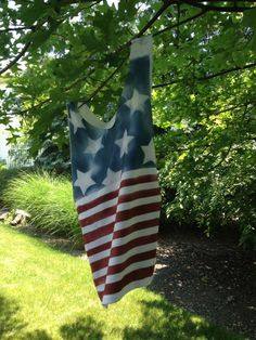DIY: Patriotic T-shirt ~ a real quick way of doing this...what fun!