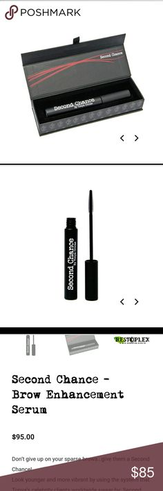 New! The Browgal second chance Brand new still sealed The Browgal Second Chance-Brow enhancement serum. Full size the browgal Makeup