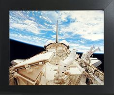 NASA Space Shuttle Doors Open Science Motivational Contemporary Black Framed Wall Decor Art Print Poster (20x24) by Impact Posters Gallery, http://www.amazon.com/dp/B01N2UGBHT/ref=cm_sw_r_pi_dp_x_e0GvzbRKD9GS8